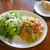 Capo PELLICANO - Aセット ベーコンとフレッシュトマト、ブロッコリーのスパゲッティーニ ¥880