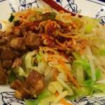 seiammensoushintouki - ヨウポー麺 混ぜる前