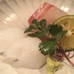Tanimoto - 明石の鯛にアオリイカ