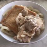 125947402 - オリーブ豚は甘辛の味付けですが格別美味しい事もなかったですねーf^_^;
