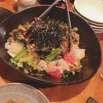 居酒屋まさら - 海鮮サラダ