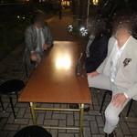 かじしか - 屋台裏の特別席