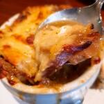 ラ・ミニョネット - オニオングラタンスープ