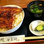 やま川 - うな丼¥4200 (大盛¥200)