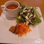 125956327 - スープと前菜