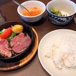 zakintansute-ki - 【サガリステーキ×牛フィレステーキ              セット ¥2.180】