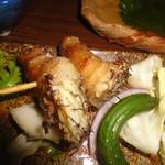 かじしか - 桜鯛の串焼き