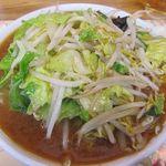 ラーメンやまき - 味噌ラーメン(野菜)850円