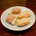 中華蕎麦にし乃 - ☆海老ワンタン&肉ワンタン(●^o^●)☆