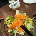 JoyTower 俵星 - サーモンのサラダ