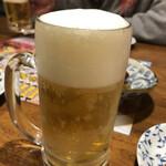 火焔山餃子房 - ビール