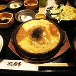 板前バル - 「手仕込み豚ロースかつ煮定食(¥900)」
