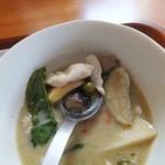 和sian-cafe aimaki - 何やら初めて見た食材も…