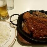 Kicchinkarori - カツジャンボ鉄板焼:990円