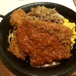Kicchinkarori - カツジャンボ鉄板焼