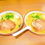 125971864 - 2人の野菜味噌ラーメン 850円(税込)【2020年2月】
