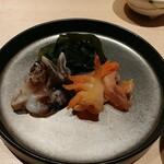 江戸前鮨 山形割烹 出羽 - とり貝&赤貝