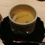 江戸前鮨 山形割烹 出羽 - 茶碗蒸し