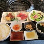 125976618 - 本日の特選御膳(松阪牛(モモ肉&ランプ))