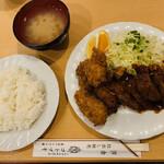 コトブキ - レバカツ&牡蠣フライ