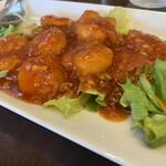 中国料理 久田 - エビチリ