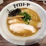 125979628 - 魚介白湯醤油