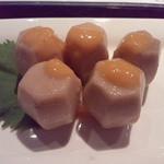 ちょいと。栞屋 - 里いもの柚子味噌