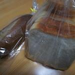 あおし庵 - 料理写真:パン2種