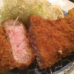 125981872 - 赤城豚厚切りロースかつ定食
