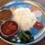 ルーフトップ ビアガーデン ヨコハマ - 料理写真:ベジカレーのカーナセット(=ダルバート(ネパール定食))
