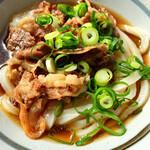 手打ちうどん 清水屋 - 料理写真:美味い 肉ぶっかけ小冷