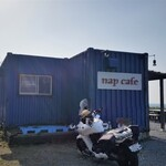 nap cafe - お店、外観。