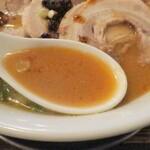 中華そば あおい - スープ