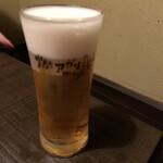 燗アガリ はなれ - 生ビール