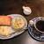 茶房 お花 - 料理写真:ドリンク代+90円のモーニング