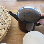 那須茶寮 - 蕎麦湯