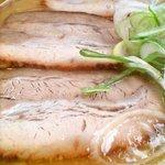 平成軒 - 味噌ラーメンのチャーシューアップ
