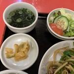 レストハウス・キング - 牛肉とピーマン炒めランチ【2020.2】