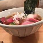 125993707 - 『上 醤油ラーメン』(1300円)