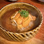 Nihonshuhanatare - 生ウニ茶漬け