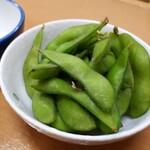 満腹 - 枝豆(220円)