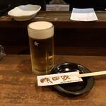 成田家 - 生ビール
