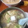 食堂ニューミサ - 料理写真:安定の豚汁ラーメン、かんずり酒粕味噌ラーメン