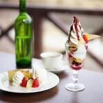 まきばレストラン - まきばスペシャル mini (¥610)、Cake set (¥680)