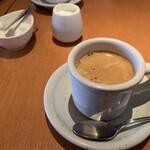 Aglio - パスタセットのコーヒー(2020,2)