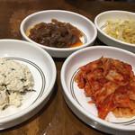 アリラン - ・惣菜4種