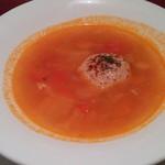 セレブ・デ・トマト - Celeb de TOMATO(丸ごとトマトのミネストローネ)