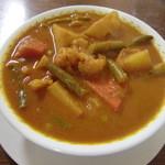 インドカリーハウス サイキルパ - 野菜カレー