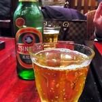 中国家庭料理 楊 - 青島ビールを注文