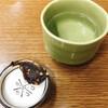 伏見 藪そば - ドリンク写真:そばみそと日本酒(月桂冠)